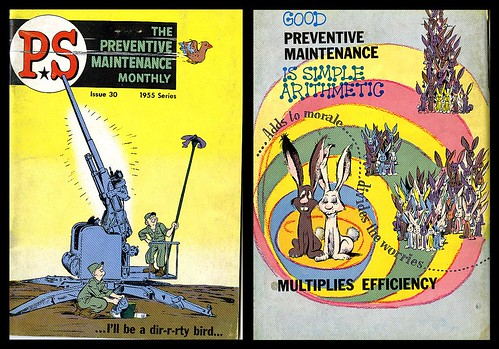 Preventive Maintenance Monthly Issue 30, 1955 (Will Eisner)