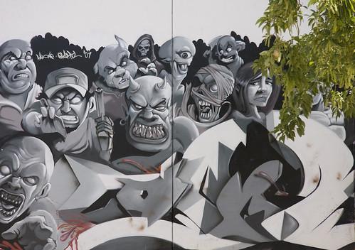 Graffiti / Street art by orlando72.