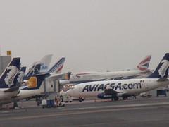 Aviacsa vs British Airways (KLM747) Tags: 400 vs boeing 747 201 737 mmx aviacsa