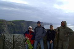 Dobermani at Cliffs of Moher (cosmic[SGA]) Tags: ireland nikon irishcountryside d40 ruralireland martinakrizikova irishwestcoast