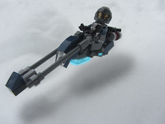 Teaser (Marley Mac) Tags: lego speeder hoverbike hover bike minifig minifigure photography