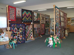 quilts and dolls 009 (sakajowa) Tags: quilt expo sandys aunty