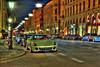 Night-HDR Maximilianstraße, Munich