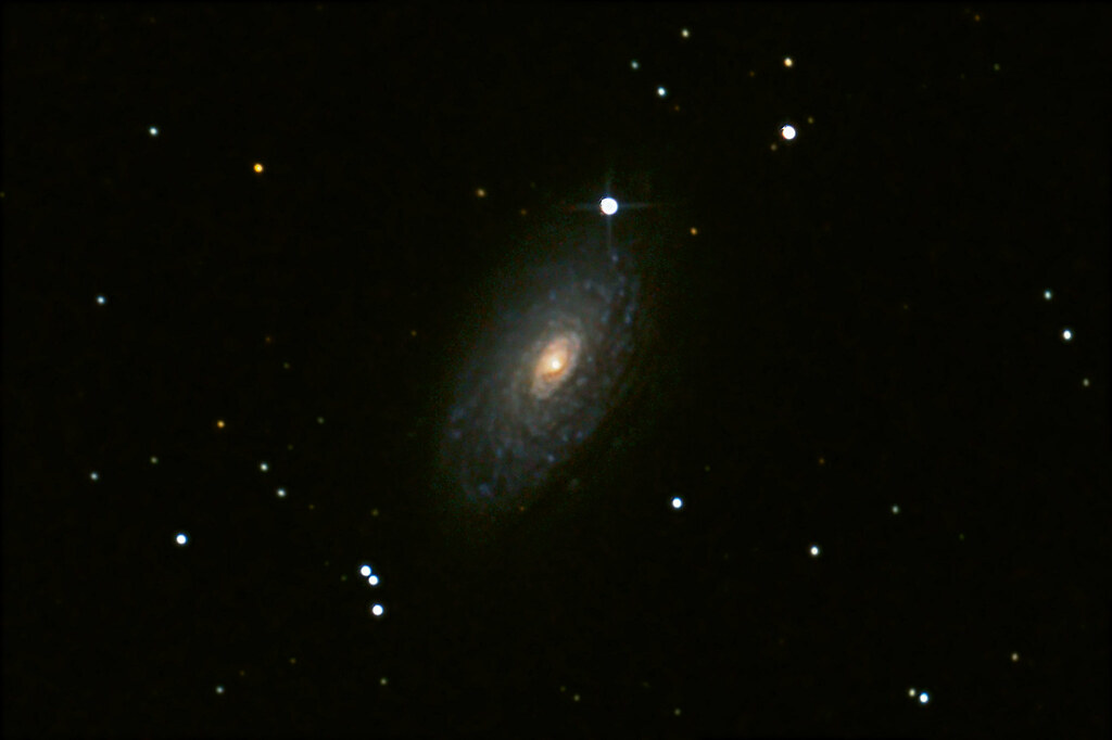 Sunflower Galaxy, High Pass Filtered