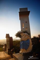 Encantos do interior. (Francine de Mattos) Tags: sunset sky sol nikon foto santacatarina fotografia outono religio d90 salete luznatural nossasenhoradasalete francinedemattos fotografeumaideia
