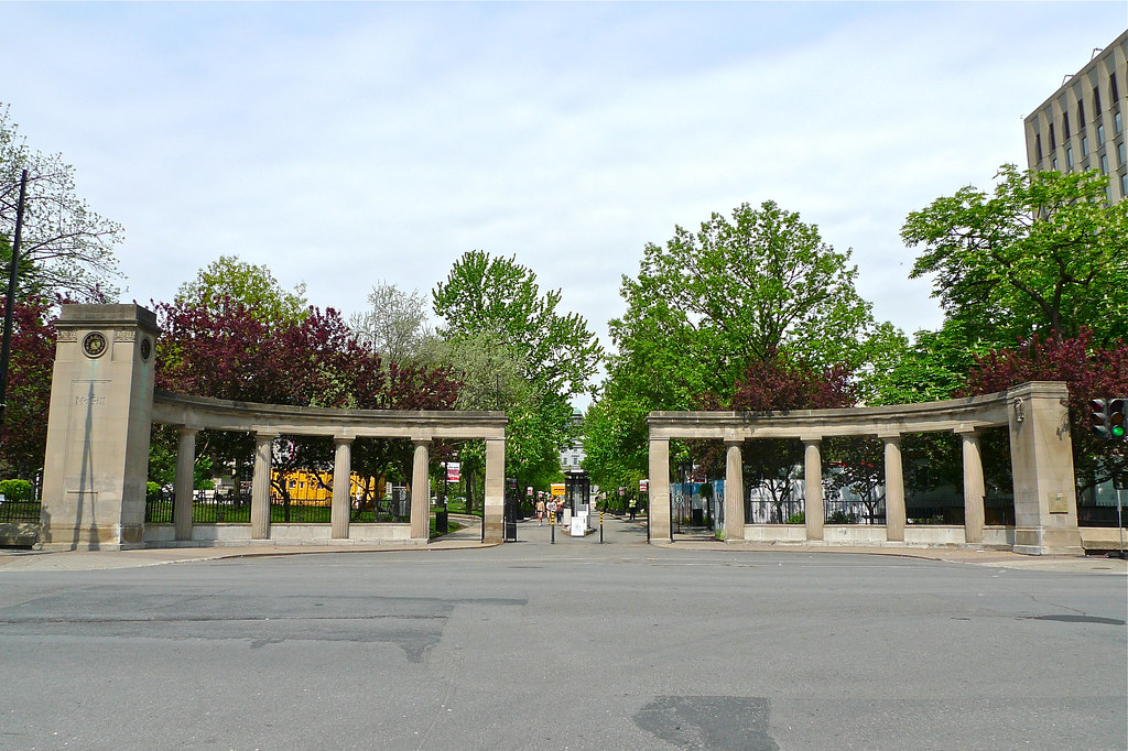 Copyright Photo: Entrance To McGill University: The Roddick Gates by Montreal Photo Daily, on Flickr