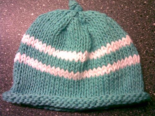 baby hat blue
