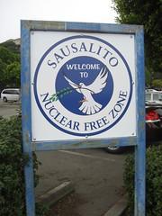 Sausalito Ferry Landing Strange Sign