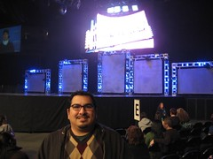 We had 8th row seats! (11/23/2007)
