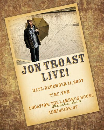 Jon Troast Live!