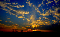 Sunset, HDR, tonemapped