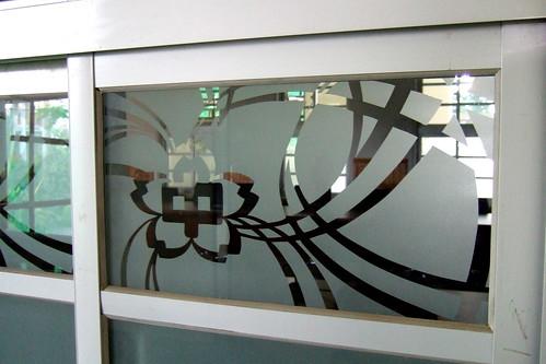 南一中紅樓翻修 新玻璃窗