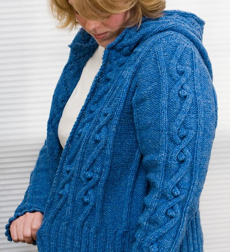 Central Park Hoodie Knitting Pattern Free : Sleeve and Panel