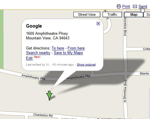 Google send to TomTom 1