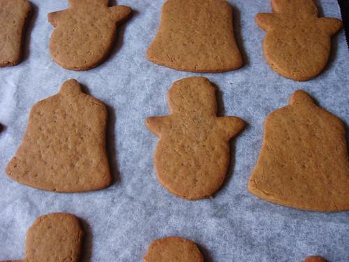 Gingerbread Bells and Snowmen