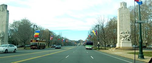 ben franklin parkway