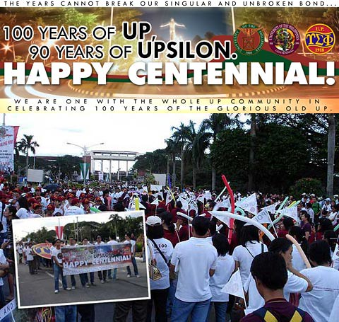 UP turns 100! - Upsilon Sigma Phi