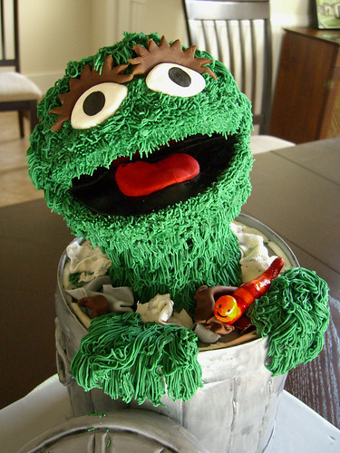 Oscar the Grouch - Close Up