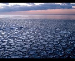 Cracked (robert_goulet) Tags: morning blue lake ontario canada cold colour texture ice clouds frozen pattern purple shapes olympus lakeontario zuiko cracked oakville evolt e500 zd thegreatlakes fourthirds 1454mm