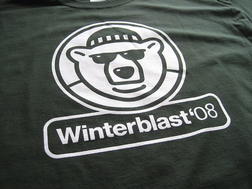 Winterblast 2008 T-Shirt Design