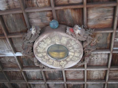 二月堂-手水舎の天井