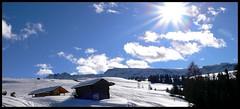 The house2 (Nikkord) Tags: sun snow casa shiny nuvole sole montagna tempo montain thehouse bolzano sartori nicolò nicoli alpedisusi nikkord nicolòsartori