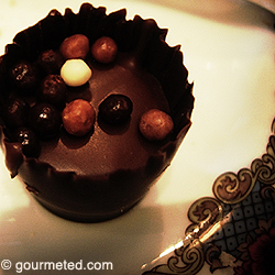 Chocolate from the Fairmont Empress Afternoon Tea