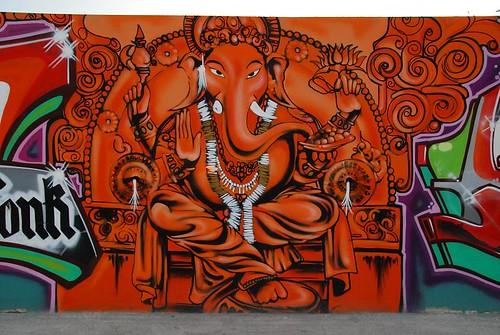ganesh graffiti