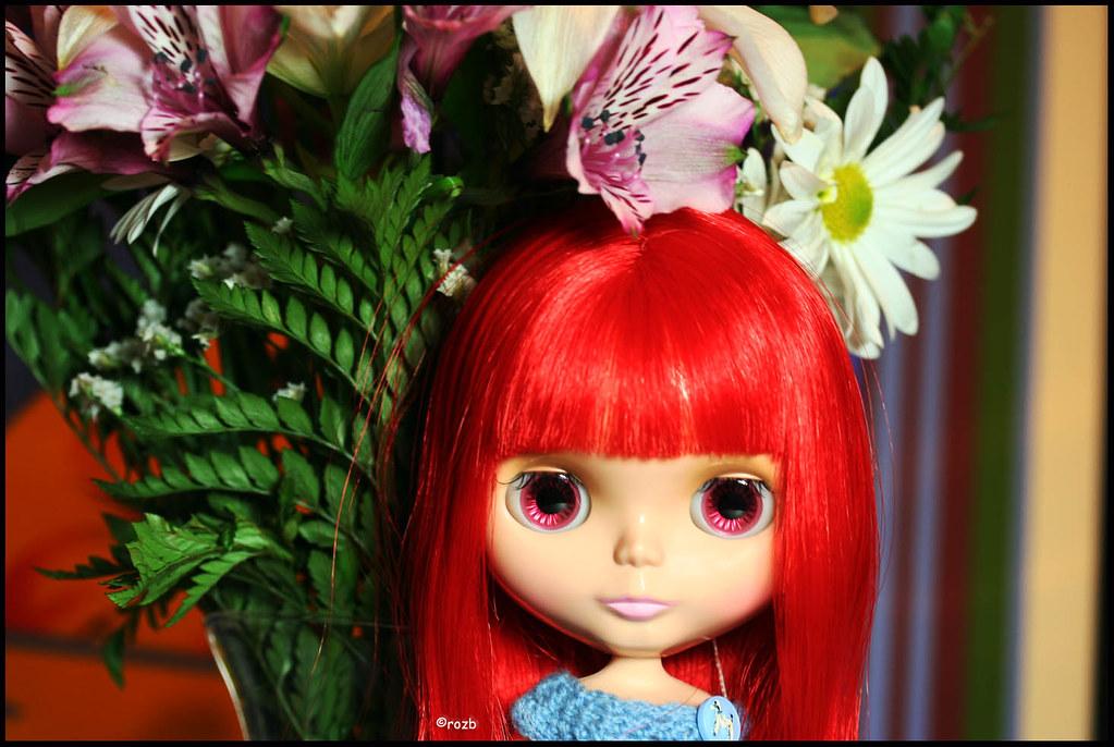 Under the Valentine Flowers