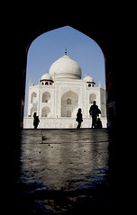 smooth cool floor (galuppi) Tags: india bravo arch silhouettes taj mahal agra portfolio figures imagepoetry worldicon ysplix