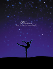 Illustration Friday: Leap (imwithsully) Tags: sky ballet silhouette collage illustration night digital stars dance adobephotoshop dancer illustrationfriday leap adobeillustrator