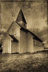 Small church reworked (Per Erik Sviland) Tags: texture church nikon antique erik per hdr pererik golddragon anawesomeshot superbmasterpiece sviland sqbbe pereriksviland