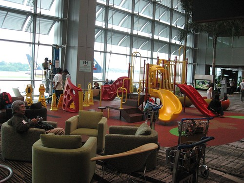 Play area in Terminal 3 # Changi