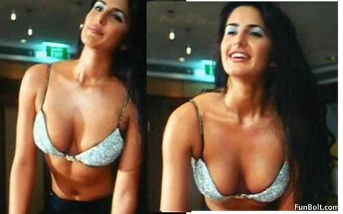 nipple Katrina slip kaif