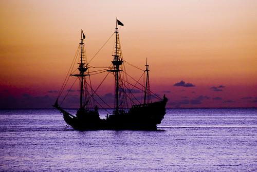 UE Pirate ship