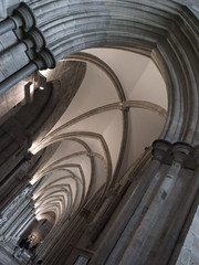 aisle (stewartpratt) Tags: church angle cathedral ceiling aisle vaulted chichester obliquemind obliquamente