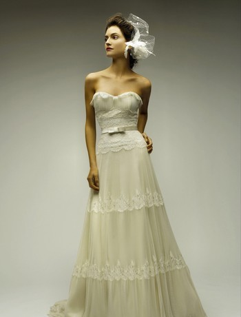 Spring-Summer 2009, wedding dress