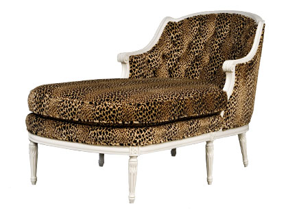 Jayson Home and Garden vintage chaise