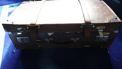 closed suitcase