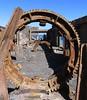 Überreste der zweiten Schwefelfabrik