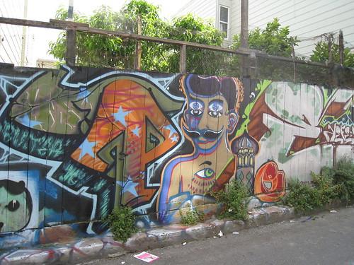 Clarion St Murals & Graffiti