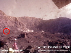 White Island - Webcam an der alten Fabrik