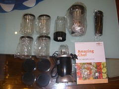 Amazing Chef food processor - unboxed