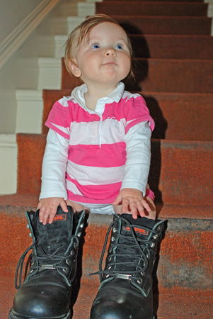 In Daddy's Shoes... PAD #1132