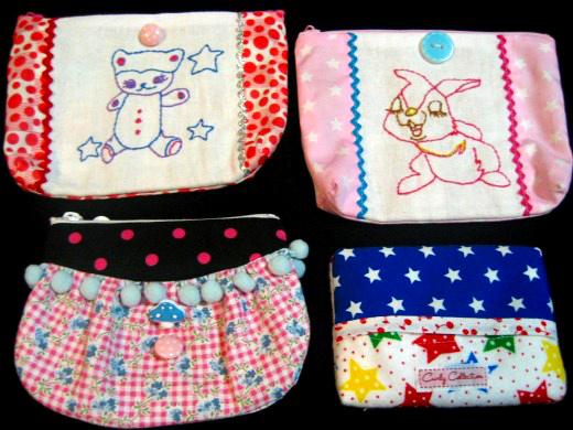 Handmade accessory bags