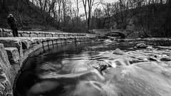 Minnehaha Park (Vasil1978) Tags: landscape blackandwhite bridge water winter waves rocks river nature nationalpark minnesota minneapolis minnehaha