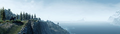 Frontiers (~Scimo~) Tags: panorama screenshot thewitcher tw3 fantasy fog landscape computergame