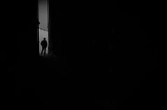 209/365 (alex bo.) Tags: 365 365project night nikon nikond90 50mm urban city street streetphotography monochrome people noiretblanc blackandwhite bw black dark