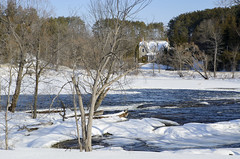 gingerbread rapids (Barbara A. White) Tags: pakenham mississippiriver gingerbreadhouse