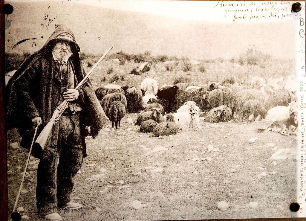 Corsican peasant man, Corsica, France